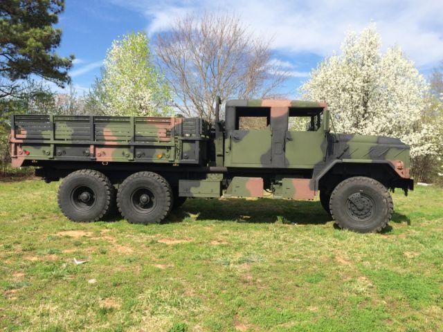Custom Crew Cab 1992 BMY M923A2 6x6 5 Ton Military Truck M998 M35A2