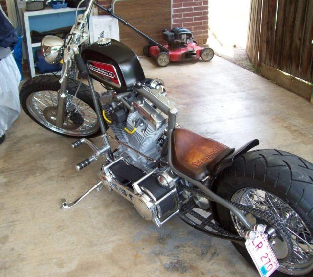 Custom Detroit Brothers Bobber / Chopper / Dragster Style