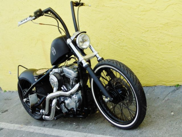 Custom Harley Bobber Softtail Completely Tricked Out Low ...