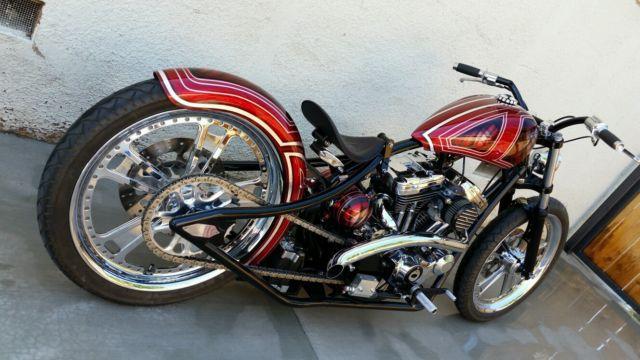 Custom Harley Davidson 21 21 Board Tracker