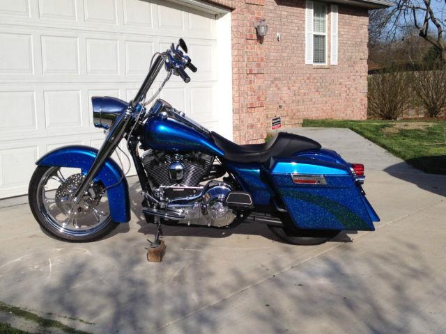 316824 Custom Harley Davidson Road King Bagger
