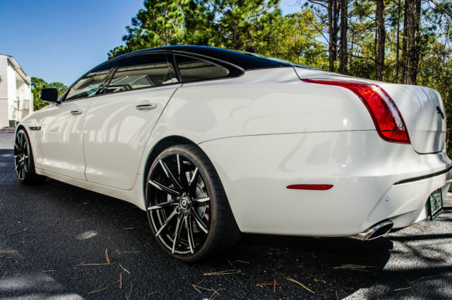 Custom Jaguar Xjl Supercharged With Custom Paint And 22