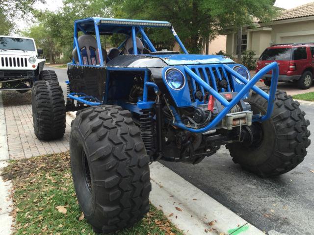 Rock Crawlers 4x4 : Custom jeep rock crawler
