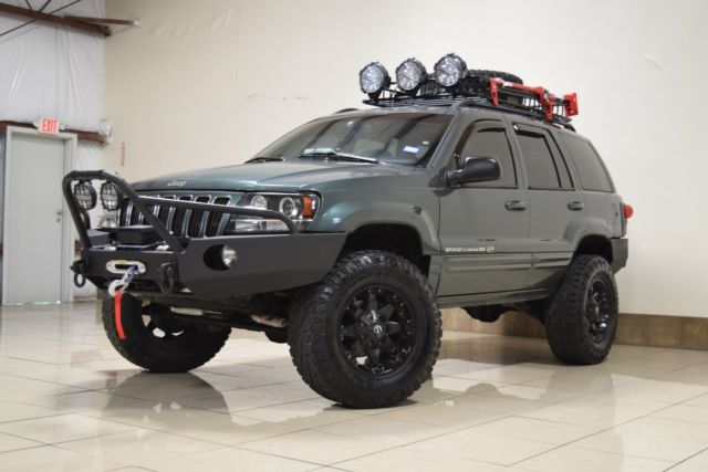custom jeep grand cherokee overland 4x4 lifted tv  dvd navi