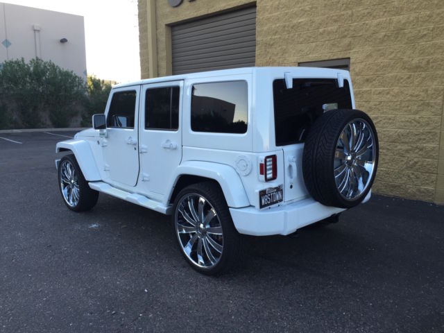 Custom Jeep On 26 Inch Wheels