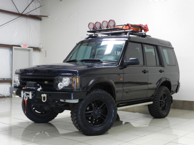 Custom Land Rover Discovery 2 Lifted Winch Dual Sunroof