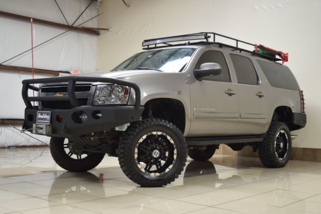 Custom Lifted Chevy Suburban 2500 Lt 4x4 Winch Safari Roof