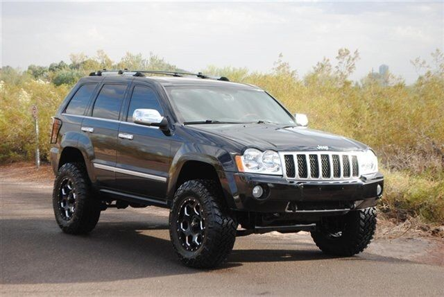custom lifted jeep grand cherokee overland. Black Bedroom Furniture Sets. Home Design Ideas