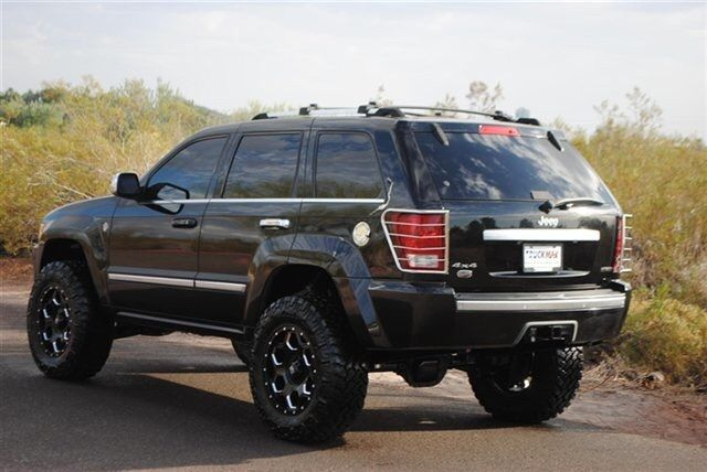 custom lifted jeep grand cherokee overland 2007 jeep grand cherokee. Cars Review. Best American Auto & Cars Review