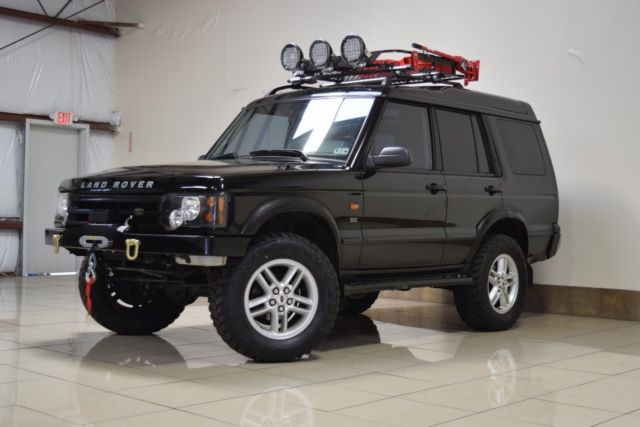 Custom Lifted Land Rover Discovery 2 Winch One Owner New