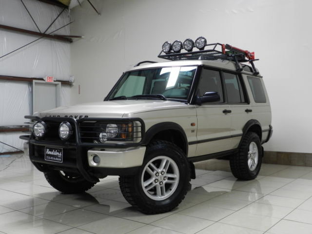 CUSTOM LIFTED LAND ROVER DISCOVERY SE TV/DVD DUAL SUNROOF ...