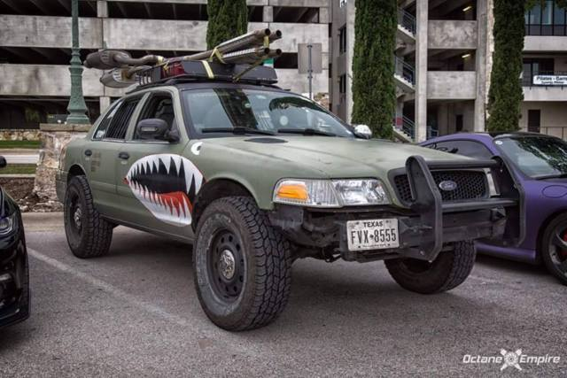 Custom Lifted Offroad Crown Victoria Police Interceptor