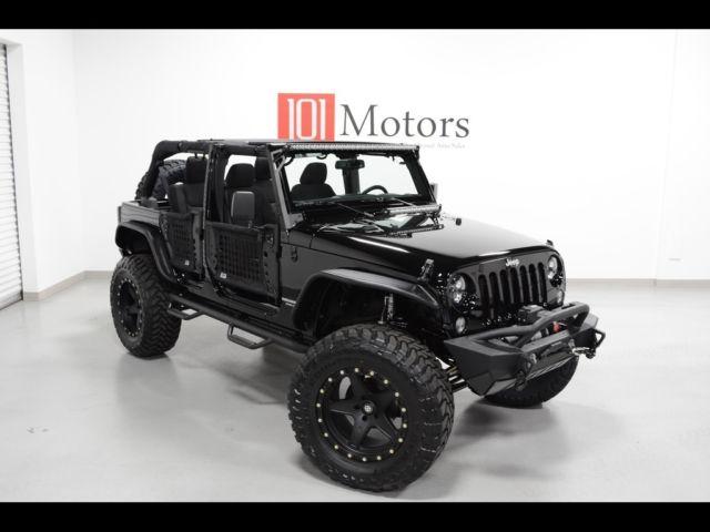 "Lifted Jeep Wrangler >> Custom Lifted Wrangler JKU, 20"" , Auto, 37"" Toyo MT, 3.5 ..."