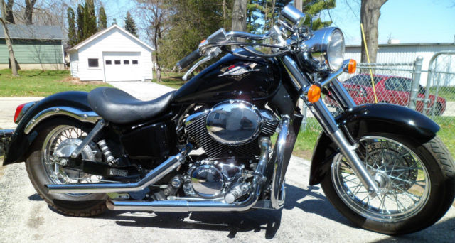 Custom lowered honda shadow american classic edition with for American classic customs