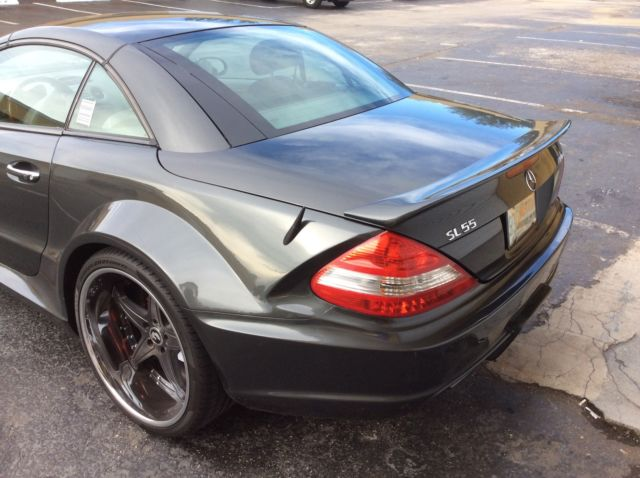 Custom mercedes benz sl500 base convertible wide body car for Mercedes benz sl coupe for sale