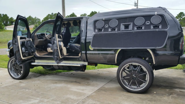 Custom one of a kind ford black f350 superduty crew cab for 03 chevy silverado door speaker size