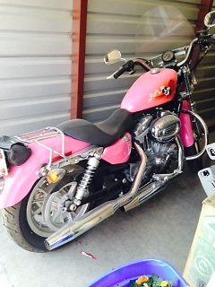 Harley Davidson Sportster For Sale >> Custom Pink Harley Davidson 883 Sportster