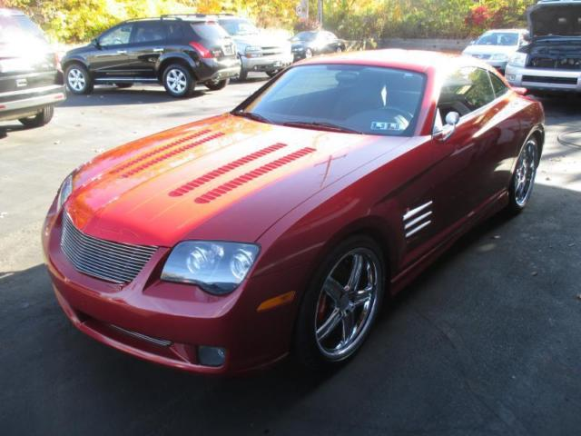 Custom Rare Chrysler Crossfire Coupe Speed Unique Fun To Drive