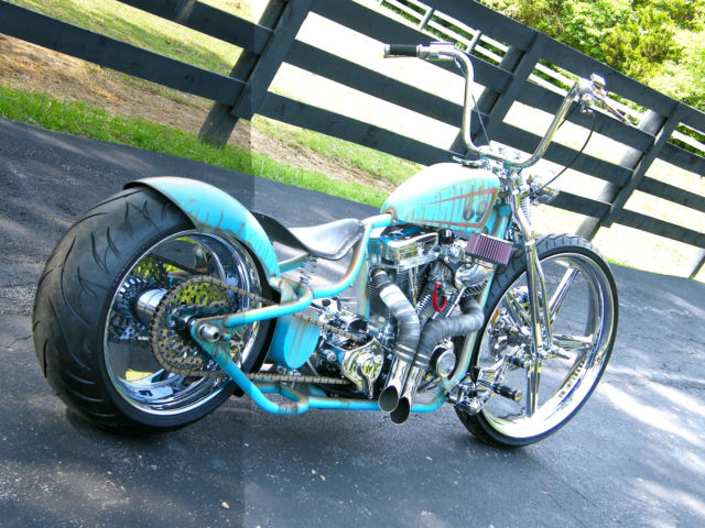 CUSTOM SHOW WINNING FAT TIRE BOBBER ANYTHING YOU CAN DREAM ...