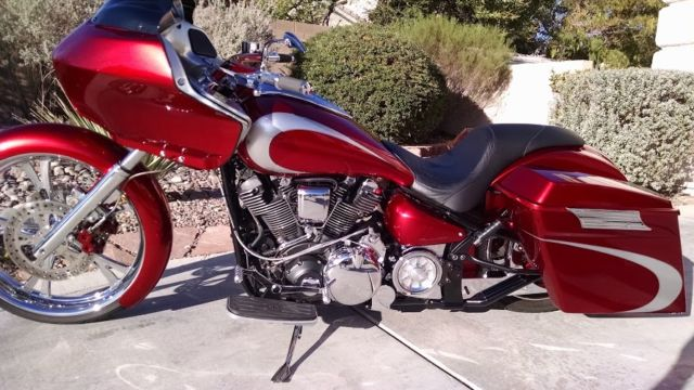 Custom yamaha road star 102ci motorcycle bike bagger hd for Yamaha road motorcycles