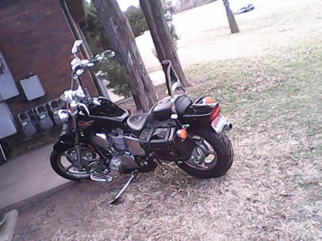 Customized 1100 Cc Honda Shadow Motorcycle Street Bike