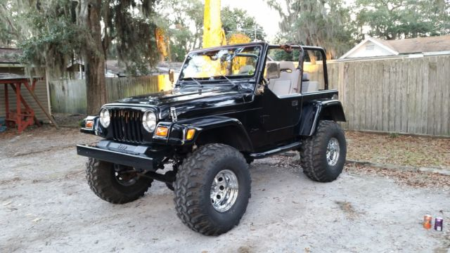 Customized Jeep Wrangler TJ