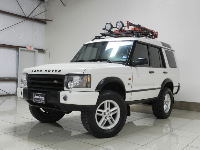 CUSTOMIZED LAND ROVER DISCOVERY LIFTED SAFARI PACKAGE SUNROOF MUST