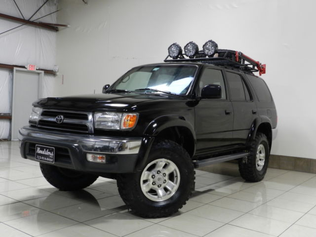 CUSTOMIZED TOYOTA 4RUNNER SR5 4X4 LIFTED ROOF BASKET TOW ...