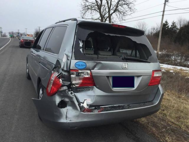 Damaged Wrecked 2007 Honda Odyssey Exl Minivan Van 8 Seats