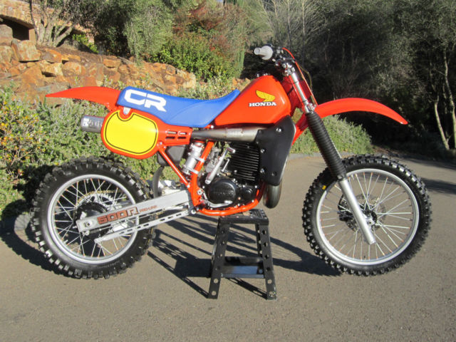 Dg Honda Cr500 Show Race Dirt Bike Motorcycle Motocross Ahrma