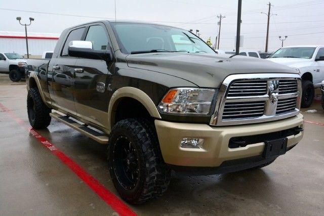 Dodge 4wd Truck Automatic Cummins Gooseneck Htd Leather
