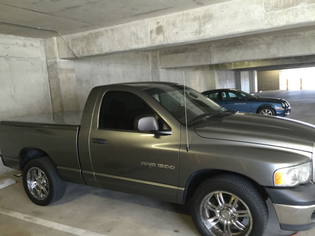 Dodge Ram 1500 Regular Cab Hard Top Bed Cover 20 In Rims