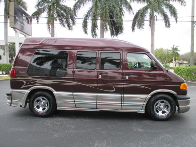 DODGE RAM CONVERSION VAN HIGH TOP LIMITED EDITION FLORIDA CLEAN TITLE