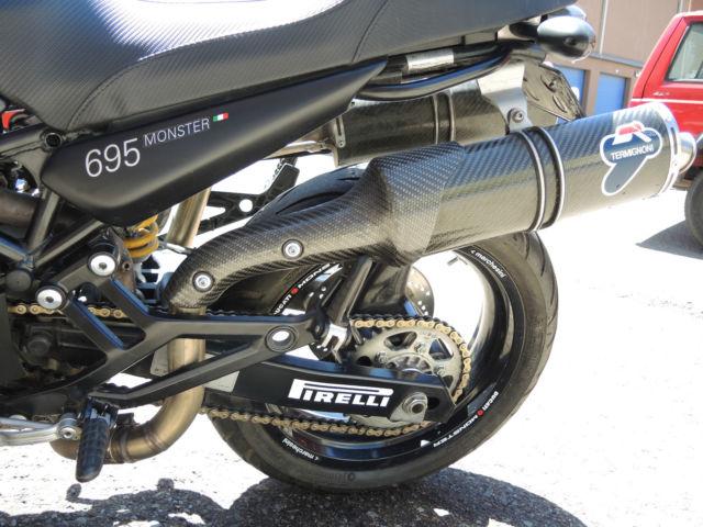 Ducati Monster Front Fender White