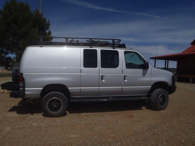 Econoline 4x4 Camper >> e350 ford van 4x4 conversion camper