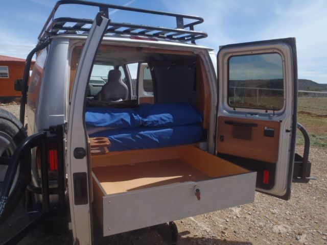 E350 Ford Van 4x4 Conversion Camper