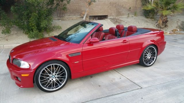 E46 Bmw Imola Red Red M3 Smg 6 Speed Immaculate Loaded Dealer