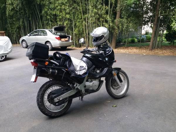 Ebay Motors Motorcycles Bmw F Series Category Funduro F650 1997 Black