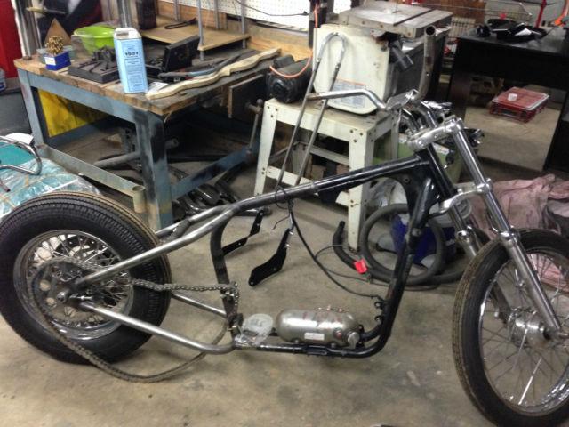 Harley Davidson Frame With Title For Sale