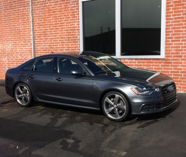 """Exceptional Audi A6 """"Black Optic Package"""" S-Line TDI"""