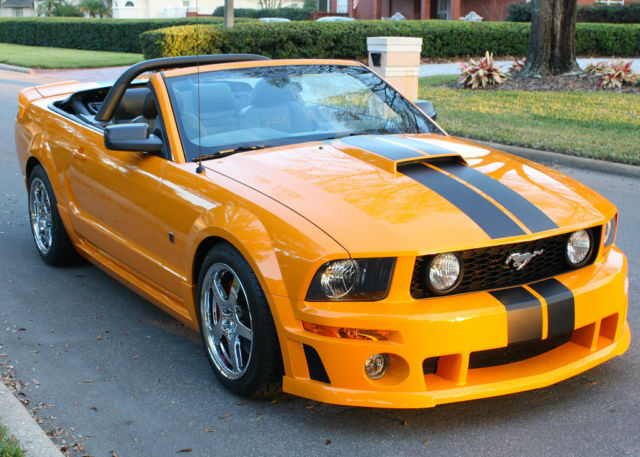 fast drop top beautiful 2007 ford mustang roush stage. Black Bedroom Furniture Sets. Home Design Ideas