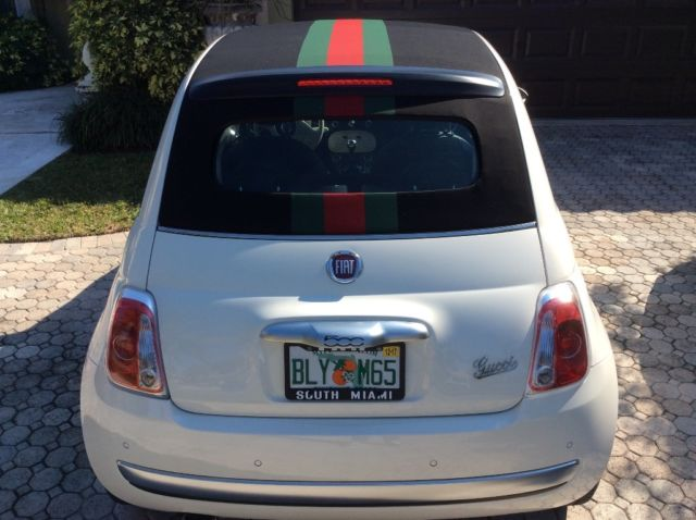 Fiat 500c Gucci Convertible Limited Edition 2017 500