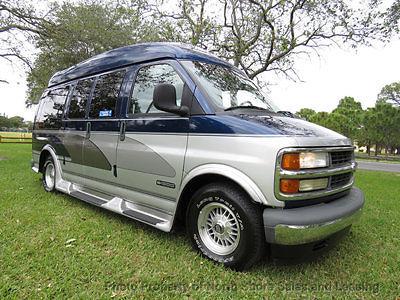 Florida One Owner Luxury Hi Top Cobra Conversion Van Wheel Chair Lift Low Miles