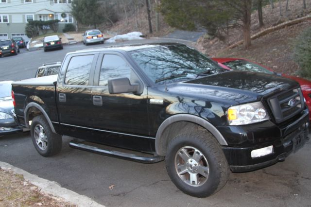 for sale 2005 ford f150 crew 4x4 5 4 triton. Black Bedroom Furniture Sets. Home Design Ideas