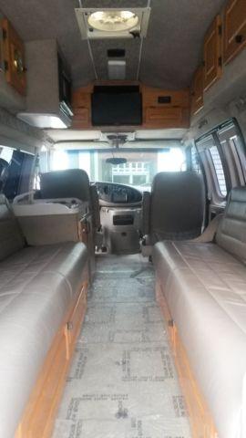Ford E250 Custom High Top Conversion Camper Van By Jayco