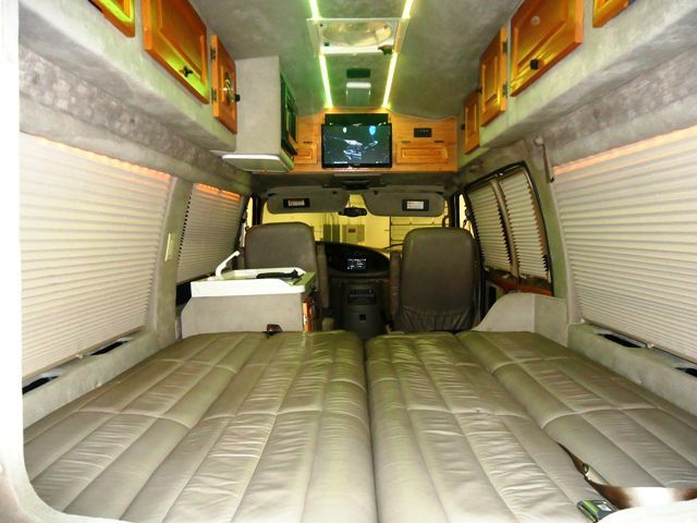 Ford E250 Custom High Top Conversion Camper Van By Jayco