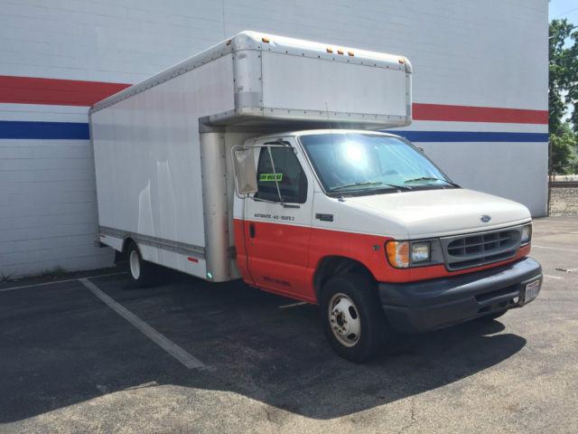 Ford E350 Superduty Uhaul 17ft Box Truck