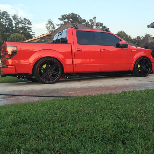 Ford F 150 Ecoboost Fx2 Crew Cab Lowered Show Custom Low Miles