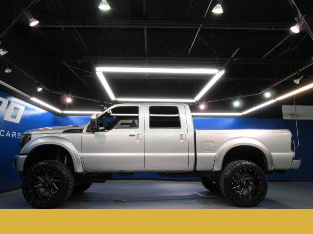 Used F 250 Super Duty >> Ford F-250 Platinum Supercrew 4WD 6.7 Diesel Lift 22inch Wheels Amp Research DVD
