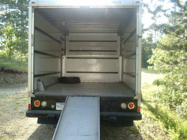 Ford F 350 Xl Box Truck Retired Uhaul Moving Truck